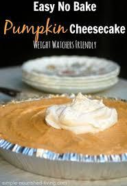 low calorie no bake pumpkin cheesecake