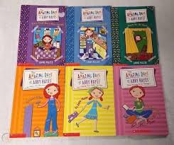 Lot of 6 THE AMAZING DAYS OF ABBY HAYES Books ANNE MAZER Scholastic RL5 EUC  | #1750255084