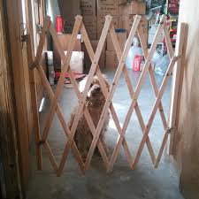 Safety Pet Wooden Fence Gate Expanding Swing Fence Door Pinewood Portable Lawn Pet Supplies Other Dog Supplies Ayianapatriathlon Com
