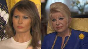 Ivana Trump on Melania as First Lady: 'I'm Basically First Trump Wife' -  YouTube