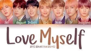 bts 방탄소년단 answer love myself color coded lyrics eng rom
