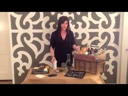 DIY Chalkboard Signs and Welcome Baskets with Ivy Robinson - YouTube