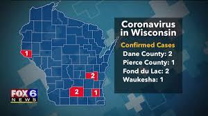 coronavirus confirmed in Wisconsin ...
