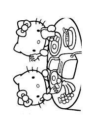 Hello Kitty Eten Hello Kitty Kleurplaten Kleurplaat Com
