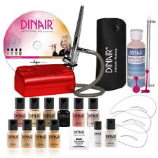 airbrush makeup personal pro kit dinair2u