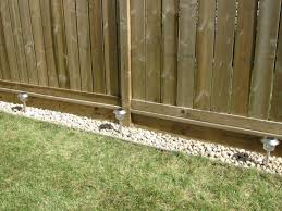 How To Rock Border Along The Fence Landscaping Along Fence Backyard Fences Fence Landscaping
