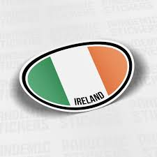 Dublin Ireland Country Vintage Stamp Car Bumper Vinyl Sticker Decal 4 6 For Sale Online Ebay
