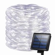 solar rope fairy light led