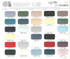 ppg car paint colors chart best of ford