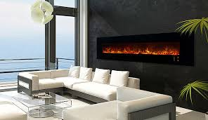 electric fireplaces linear and