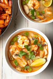 Tom Yum Soup Recipe (Hot and Sour Soup ...