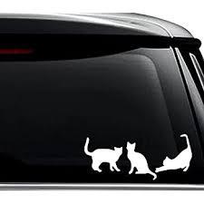 Amazon Com Ak Wall Art Cat Vinyl Decal Car Phone Helmet Select Size Home Kitchen
