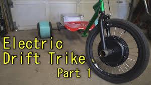 homemade electric drift trike part 1