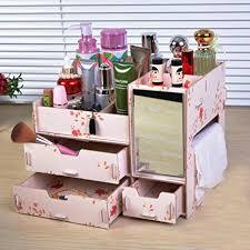 rart diy makeup storage box multi layer