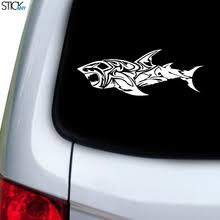 Tribal Dual Pattern Decal For Car Window Stickany
