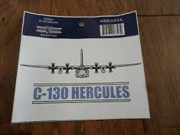 U S Military Air Force C 130 Hercules Plane Window Decal Bumper Sticker Ebay