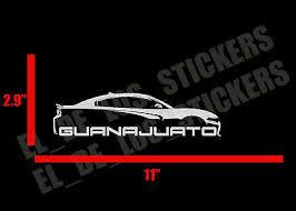 Guanajuato Car Decal Sticker 11 Mexico Mexicano Estado Las Momias Ebay