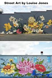 Bursts Of Stylized Flowers By Ouizi Transform Buildings Into Floral Canvases My Street Inspiration Flower Street Mural Art Graffiti Wall Art Flower Mural