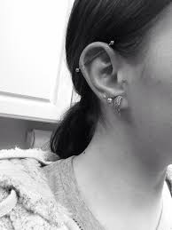 Industrial piercing! discovered by abigail olson