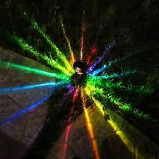 moodlights rainbow painted solar led