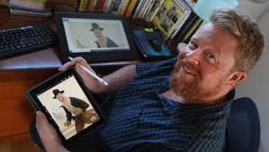 Wollongong animator Adam Murphy works on major movies from his home studio  in Balgownie | Illawarra Mercury | Wollongong, NSW