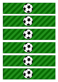 Kit De Futbol Soccer Imprimible Para Fiestas Tematicas Con