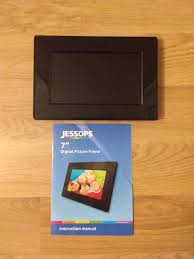 jessops digital photo frame 7 inch in
