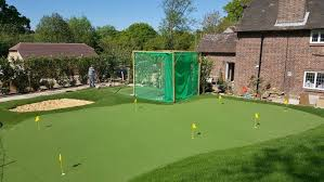 how to build your own putting green