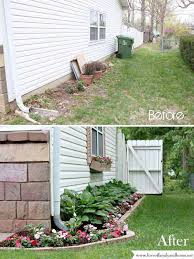 ideas to use your narrow side yard