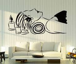 Wall Stickers Vinyl Decal Massage Beauty Salon Spa Relaxation Relax Z4590 Ebay Vinyl Window Decals Salon Wall Art Wall Stickers