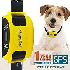 Angelakerry Wireless Dog Fence System With Gps Outdoor Pet Containment System Rechargeable Waterproof Collar Ef 851s Remote For 15lbs 120lbs Dogs 1pc Gps Rece Wireless Dog Fence Dog Fence Pet Containment Systems