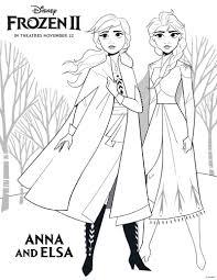 Kleurplaat Frozen 2 Anna En Elsa Topkleurplaat Nl