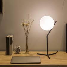 Nordic Led Ball Shape Table Lamp Children Bedroom Study Room Desk Lamp Modern Bed Side Lamp Indoor Home Decor In 2020 Study Table Lamp Led Table Lamp Modern Desk Lamp