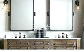 bathroom pivot mirror rectangular