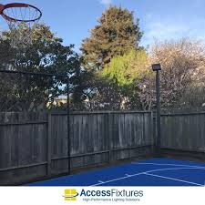 Outdoor Basketball Court Led Lighting In San Francisco