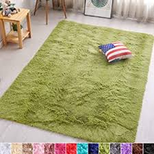 Amazon Com Green Rugs Kids Room Decor Home Kitchen