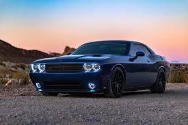 blue dodge challenger 5k hd cars 4k
