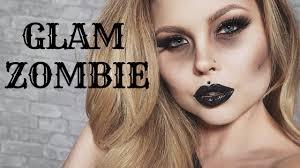 glam zombie makeup tutorial ft rimmel