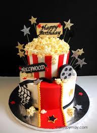 Movie Hollywood Theme Birthday Cake Fiestas De Cumpleanos De