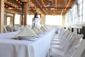 plastic plates at wedding receptions