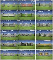Minecraft Fence Design Imgur Minecraft Crafts Minecraft Houses Minecraft Plans