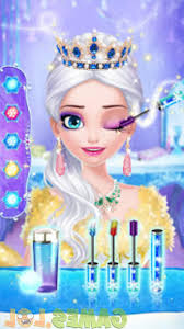 ice princess makeup fever 1 make up