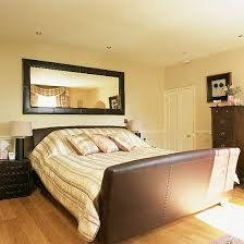 mirror over bed ideas simple home