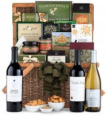 napa valley wine gift basket luxury