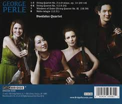 George Perle: String Quartets BRIDGE 9398 – Bridge Records