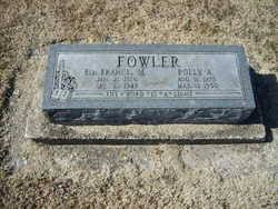 Polly Adoline James Fowler (1875-1950) - Find A Grave Memorial