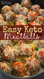 Easy Keto Meatballs - Flavorful & Low ...