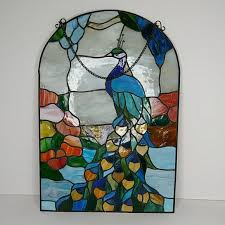 stained glass mosaic sun catcher