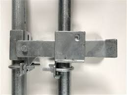 Chain Link Fence Parts Chain Link Gate Parts Commercial Strong Arm Double Gate Latch Chain Link Fence Gate Chain Link Fence Parts Chain Fence