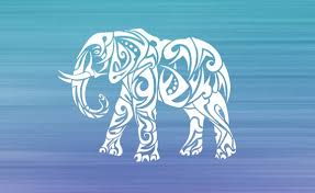 Elephant Elephant Decal Tribal Car Decal Car Accessories Etsy